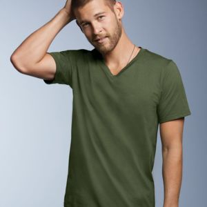 Lightweight Ringspun V-Neck T-Shirt Thumbnail