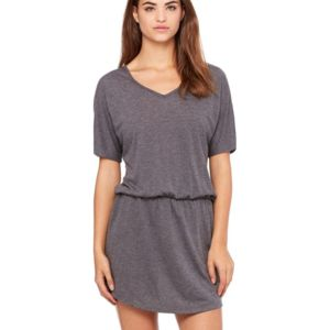Women's Flowy V-neck Dress Thumbnail