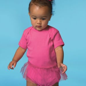 Infant Tutu Baby Rib Bodysuit Thumbnail