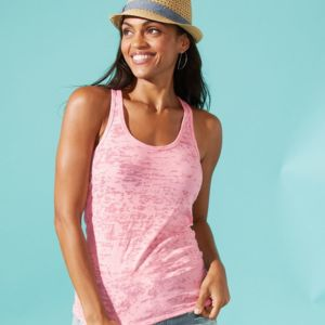 Women's Burnout Racerback Tank Thumbnail
