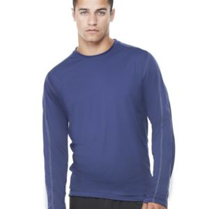 Long Sleeve Pieced Interlock T-Shirt Thumbnail