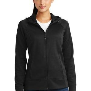 Ladies Rival Tech Fleece Full Zip Hooded Jacket Thumbnail