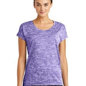 Ladies PosiCharge ® Electric Heather Sporty Tee Thumbnail