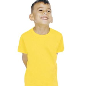Toddler Fine Jersey Short Sleeve T-Shirt Thumbnail