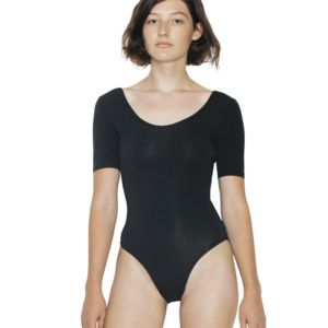 Women's Cotton Spandex Dance Double-U Bodysuit Thumbnail