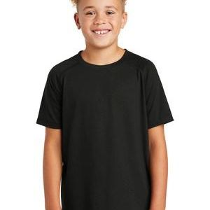 ® Youth PosiCharge ® Tri Blend Wicking Raglan Tee Thumbnail