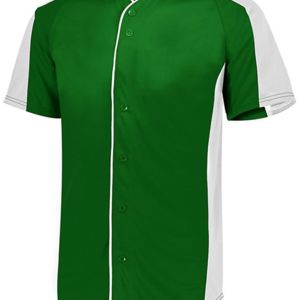 Full Button Baseball Jersey Thumbnail