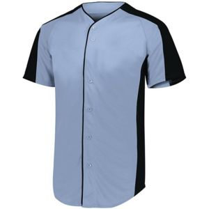 Youth Full Button Baseball Jersey Thumbnail