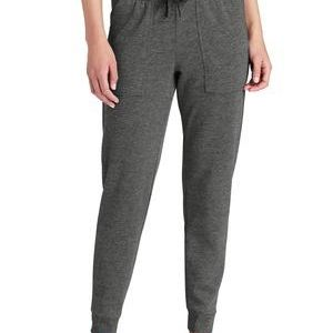 ® Ladies PosiCharge ® Tri Blend Wicking Fleece Jogger Thumbnail