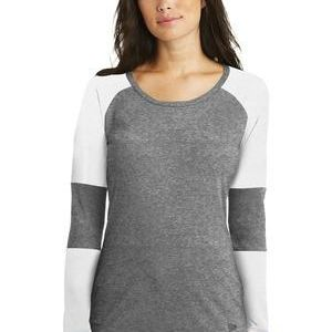 ® Ladies Tri Blend Performance Baseball Tee Thumbnail