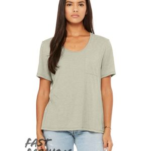 Fast Fashion Women's Flowy Pocket Tee Thumbnail