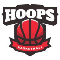 Hoops Basketball logo template  Thumbnail