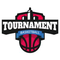 Tournament Basketball logo template Thumbnail