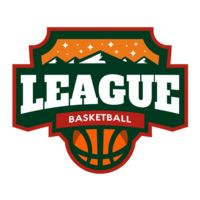 League Basketball logo template Thumbnail