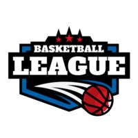 League Basketball logo template 02 Thumbnail