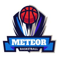 Meteor Basketball Logo Template Thumbnail