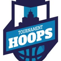 Hoops Tournament Basketball logo template Thumbnail