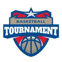 Tournament Basketball logo template 02 Thumbnail