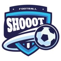 Shoot Football logo template Thumbnail