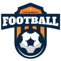 Football Tournament logo template Thumbnail