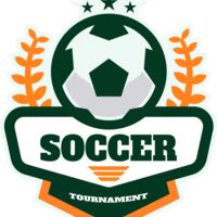 Soccer Tournament logo template Thumbnail