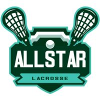 All stars Lacrosse Logo Template Thumbnail