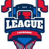 League Lacrosse Logo Template Thumbnail