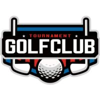 Golf club Tournament logo template Thumbnail
