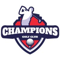 Champions Golf Club logo template Thumbnail