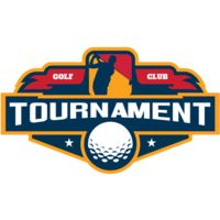 Tournament Golf Club logo template Thumbnail