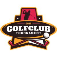 Golf club Tournament logo template 05 Thumbnail