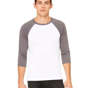 Unisex Three-Quarter Sleeve Baseball Tee Thumbnail