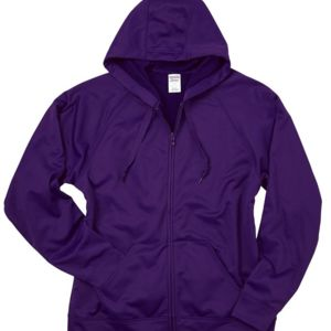 Dri-Power Sport Hooded Full-Zip Sweatshirt Thumbnail